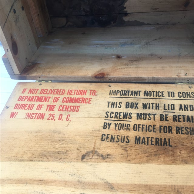 Wood Storage Box from U.S. Department of Commerce - Image 9 of 10
