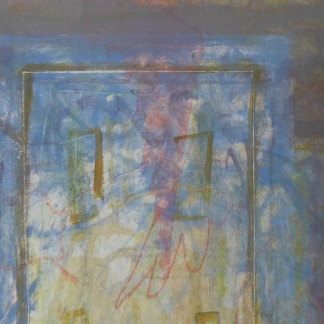 1998 Christopher Le Brun Untitled Abstract Monotype - Image 3 of 7