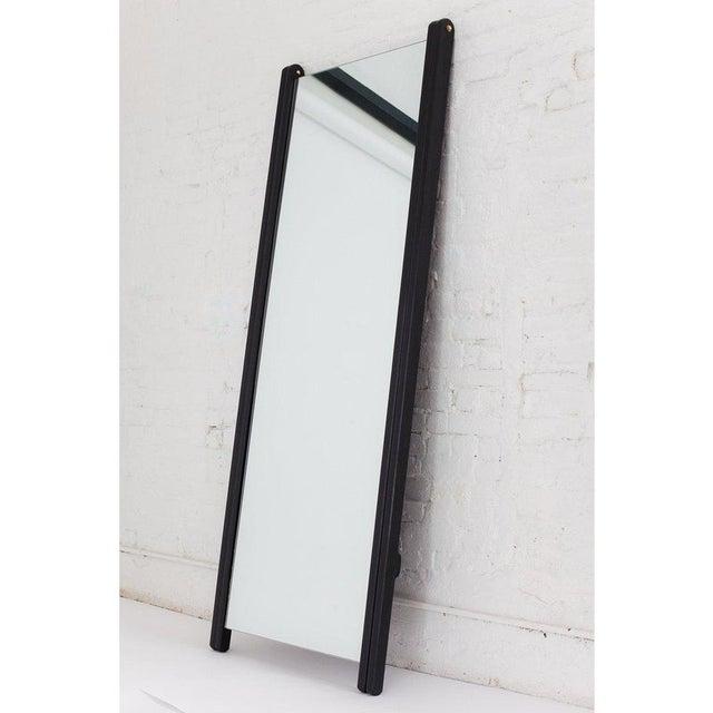 Contemporary Asa Pingree Libertine Full Length Mirror in Ebonized Oak For Sale - Image 3 of 9