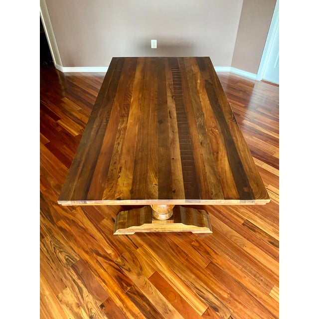 Pottery Barn Bowry Reclaimed Solid Wood Dining Table ...