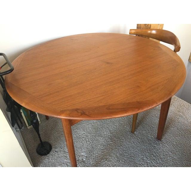 Danish Modern Dining Table - Image 3 of 6