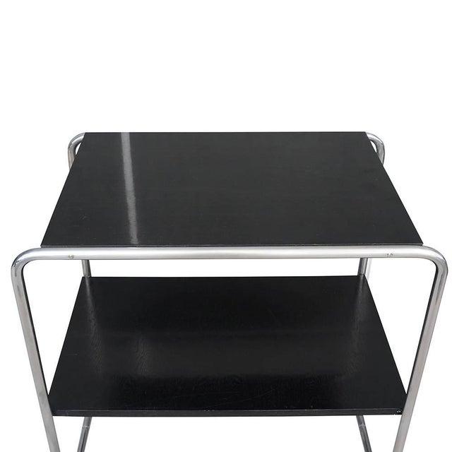 Bauhaus 20th Century Marcel Breuer Bauhaus Console Tables - a Pair For Sale - Image 3 of 5