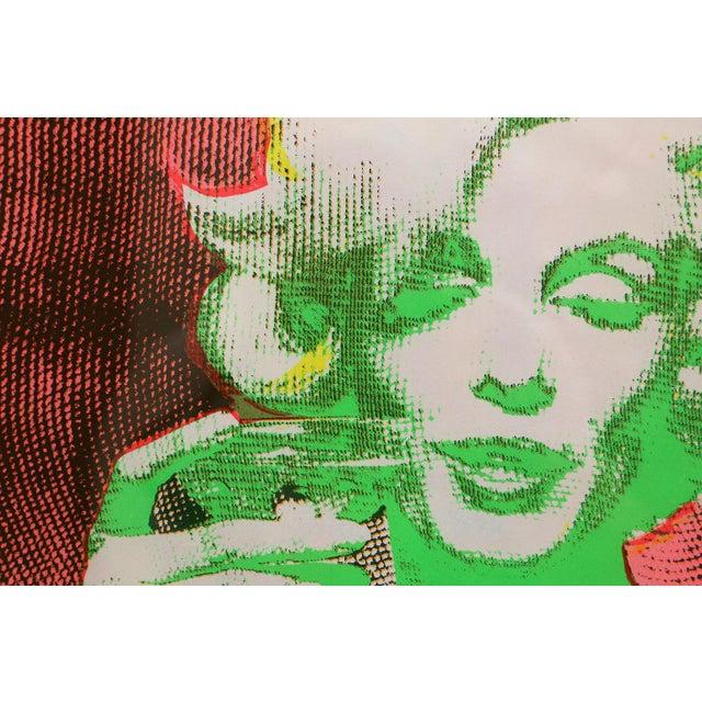 Original 1968 Marilyn Monroe Serigraph For Sale - Image 4 of 7