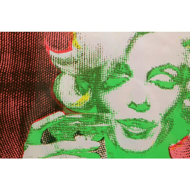 """""""The Marilyn Monroe Trip - 2"""" Original 1968 Serigraph by Burt Stern For Sale - Image 4 of 6"""