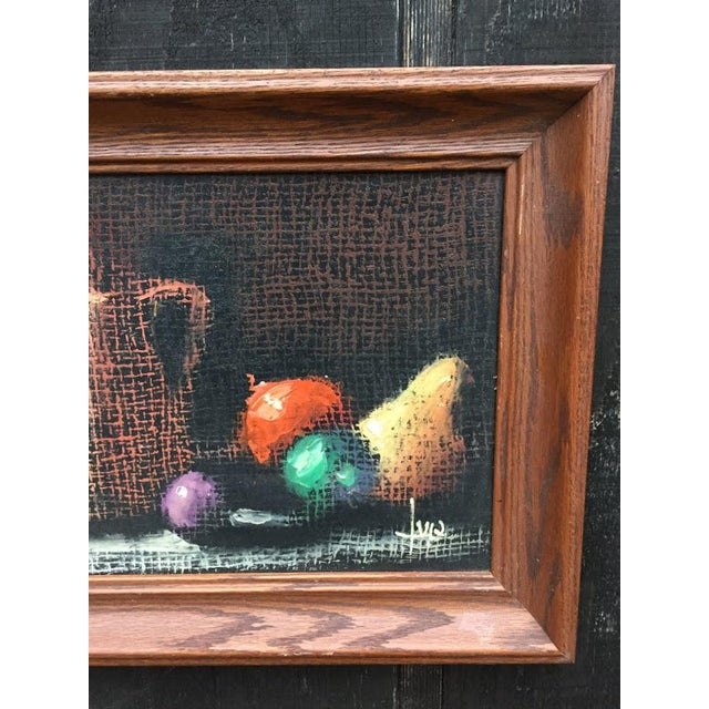 Italian Still Life Original Oil Painting For Sale - Image 6 of 10