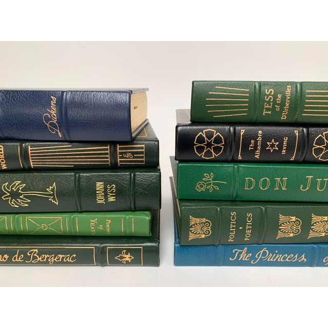 Easton Press Leather-Bound Classic Literature Book Collection - Set of 10 For Sale - Image 4 of 12