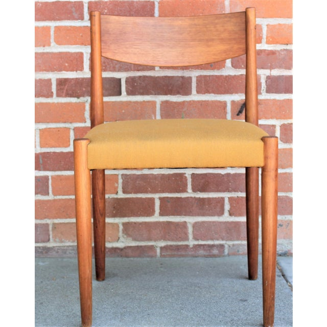1960s 1960s Vintage Danish Modern Teak Dining Chairs- Set of 4 For Sale - Image 5 of 13