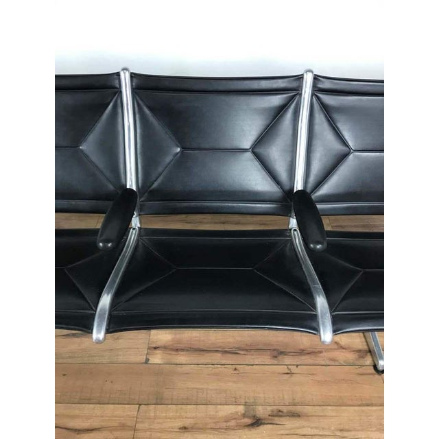 Charles & Ray Eames Tandem Sling Airport Bench - Image 11 of 13