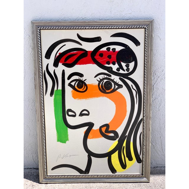 Peter Keil, Portrait of a Woman For Sale - Image 10 of 10
