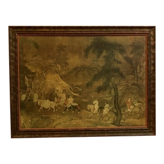 Sung Dynasty Framed Giclee For Sale