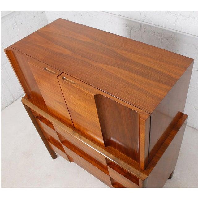 Swedish Modern Walnut Dresser by Edmund Spence For Sale - Image 9 of 10