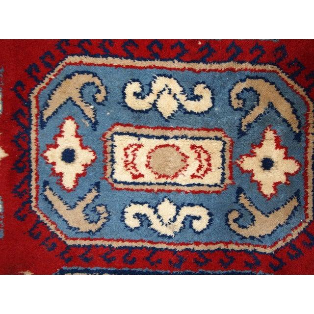 1970s Vintage Caucasian Kazak Rug - 4′ × 6′ - Image 7 of 10