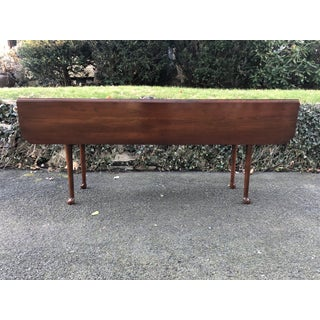 Vintage Queen Anne Harden Cherry Drop Leaf Harvest Table Preview