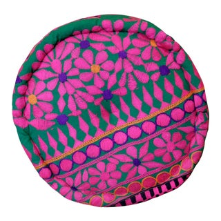 Blossoming Mathuravati Pouf For Sale