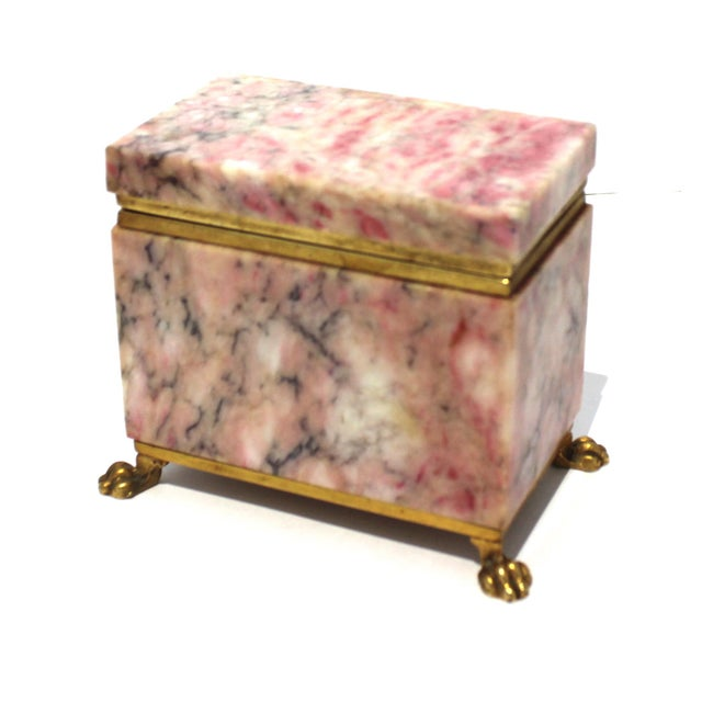 Antique Jewelry Casket With Gold Dore Accent For Sale - Image 10 of 10