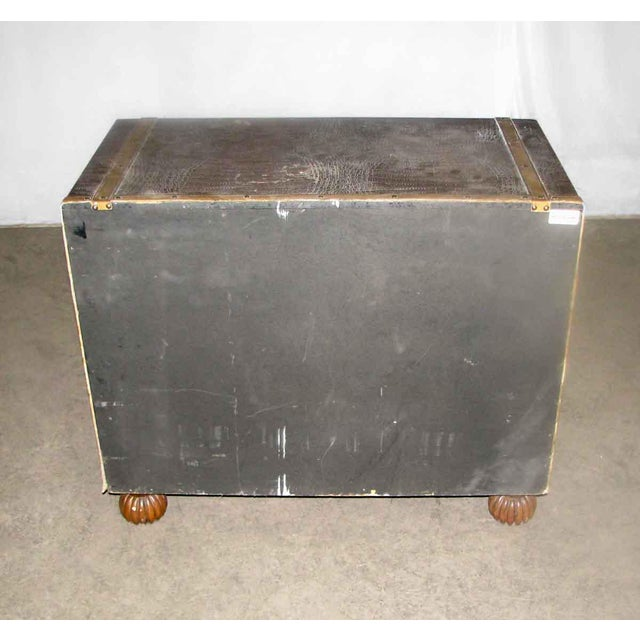 Asian Campaign Style Cabinet For Sale - Image 10 of 10