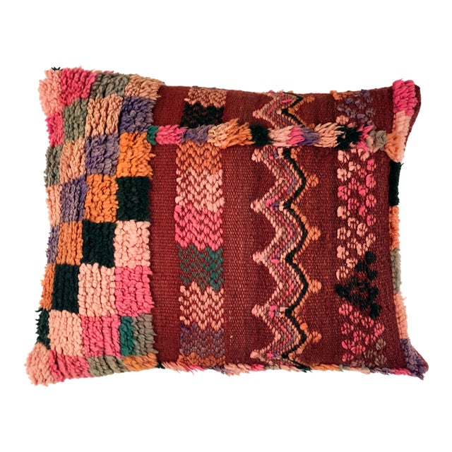 Vintage Moroccan Berber Pillow - Image 1 of 4