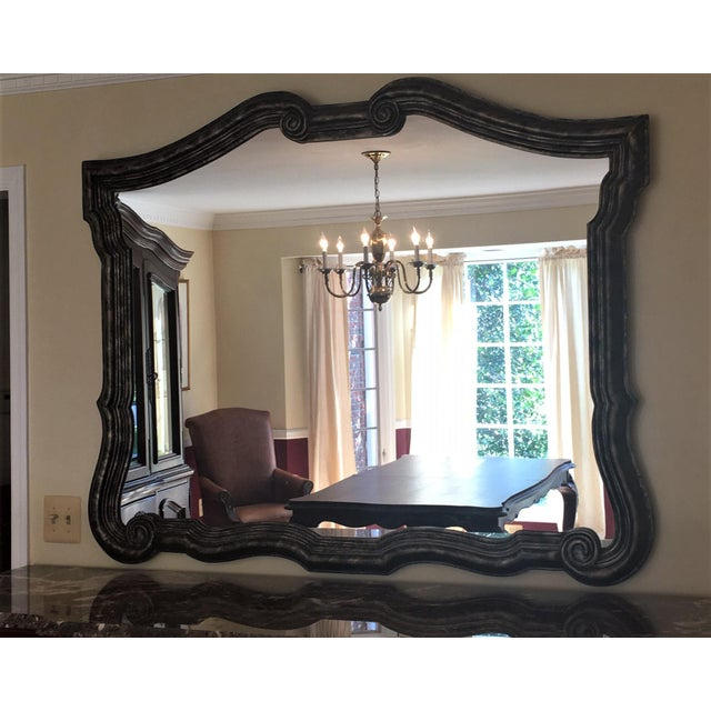 Bernhardt Avignon Large Landscape Mirror For Sale - Image 11 of 11