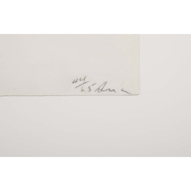 "1970s Richard Serra Lithograph ""Spoleto Circle"" For Sale - Image 5 of 6"