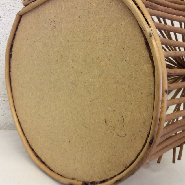 Vintage Bamboo Birdcage - Image 7 of 8
