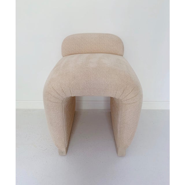 1970s Vintage RJones Waterfall Vanity Stool For Sale In Minneapolis - Image 6 of 8