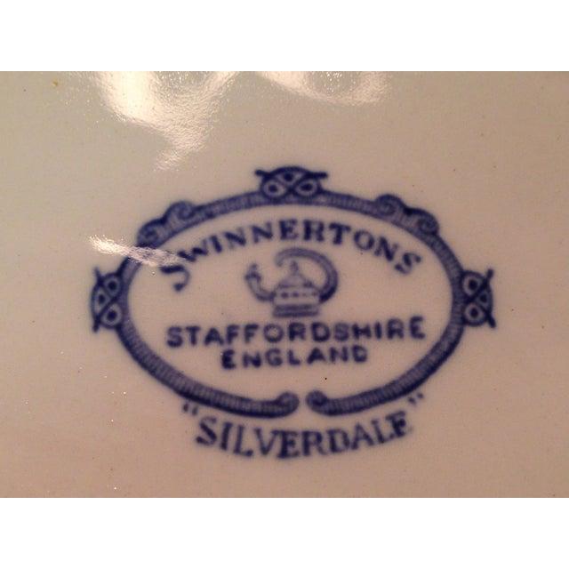 Staffordshire England Swinnertons Oval Bowl - Image 8 of 8