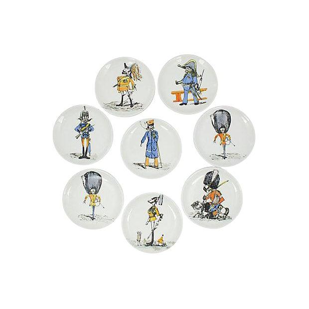 Bucciarelli Italian Coasters - Set of 8 For Sale