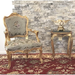 21st Century French Bergere Louis XV Bergere Preview