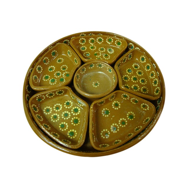 Tlaquepaque Mexican Chip and Dip Serving Tray - Image 1 of 4