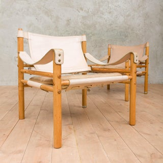 Mid-Century Modern Arne Norell Safari Chairs- A Pair Preview