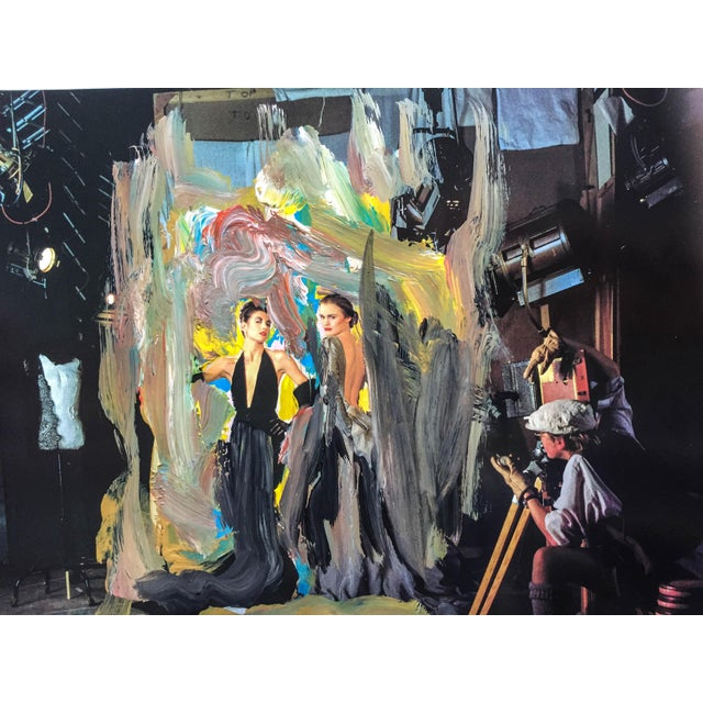 """""""The Photo Shoot"""", 7 x 6 Print of Acrylic Over Painting by Erik Sulander - Image 3 of 3"""