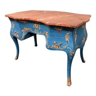 Hand Painted Bombay Chest/Desk