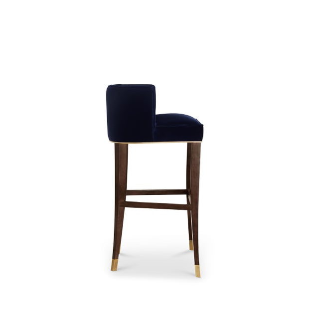 With origins in France, the House of Bourbon was a dynasty known for its class and luxury. BOURBON Bar Chair embodies this...