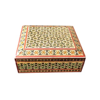 Vintage Persian Jewelry Box For Sale