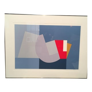 1993 Abstract Untitled Screenprint by Ben Benson For Sale