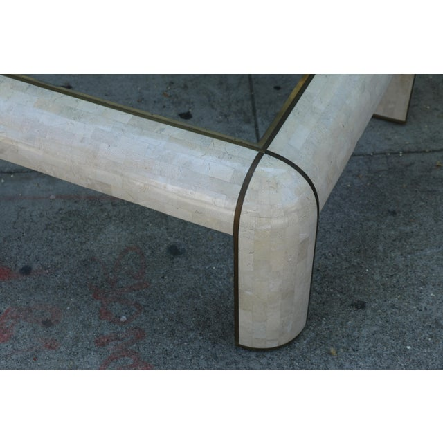 1980s Hollywood Regency Maitland Smith Coffee Table For Sale In Los Angeles - Image 6 of 9