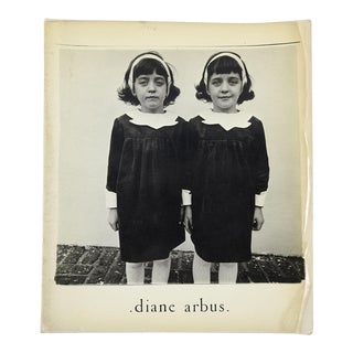 """Diane Arbus: An Aperture Monograph"" Softcover Book"