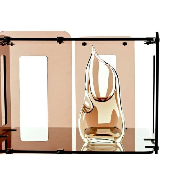 1970s 1970s French Lucite Bookcase in the Manner of Boris Tabacoff For Sale - Image 5 of 8