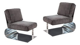 Image of Aluminum Lounge Chairs