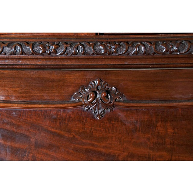 Huge George III Style Mahogany Breakfront Bookcase - Image 4 of 7