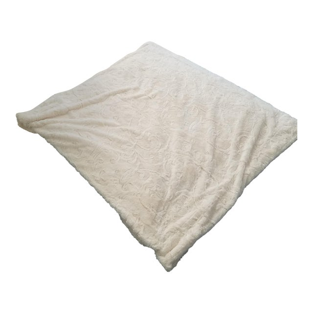 King Size Faux Fur Throw - Image 1 of 6