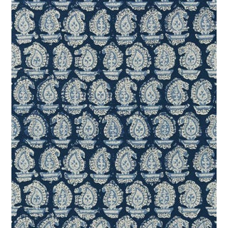 Gada Paisley Wallpaper by Anna French - Sample For Sale