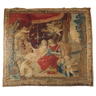 Beauvais Mythological Tapestry of Orpheus and Eurydice, France, Circa 1710 For Sale