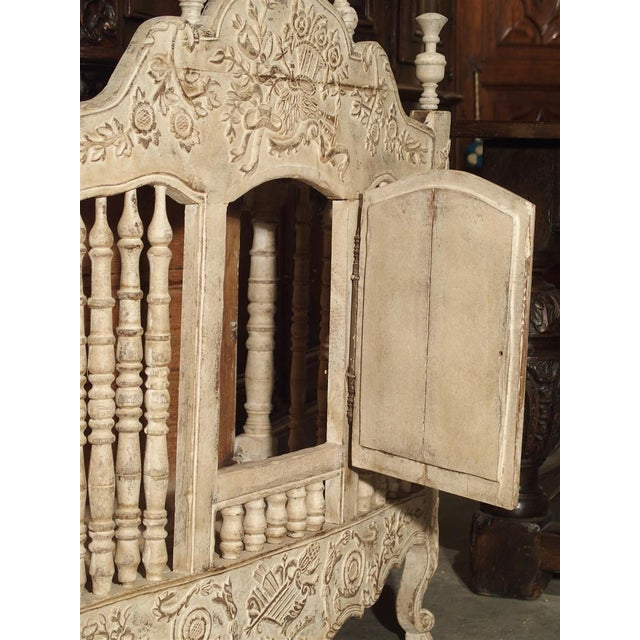 Painted 19th Century Panetiere From Provence, France For Sale - Image 12 of 13