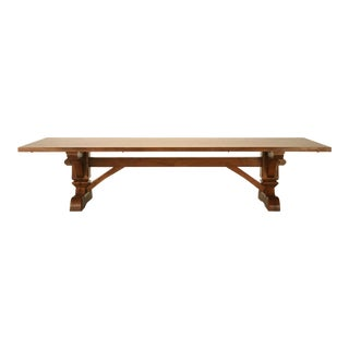 French Louis XIV Authentic Reproduction Dining Table For Sale
