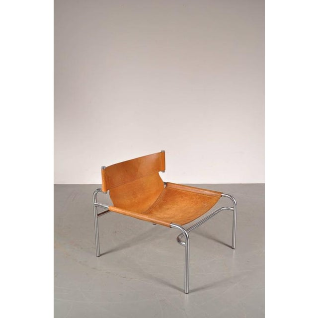 """Lounge Chair """"sz12"""" by Walter Antonis for Spectrum, Netherlands, circa 1970 - Image 4 of 9"""