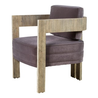 Paul Marra Curved Arm Chair For Sale