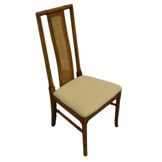 Thomasville Furniture Brighton Pavilion Collection Asian Inspired Dining Side Chair For Sale