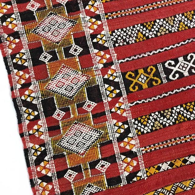 Moroccan Handmade Kilim Rug - 7′6″ × 11′6″ - Image 5 of 11