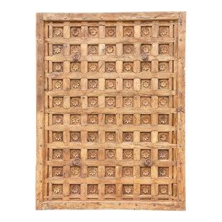 19th Century Rajkot Lotus Ceiling Panel For Sale